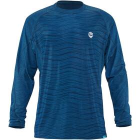 NRS H2Core Silkweight Langærmet trøje Herrer, blå
